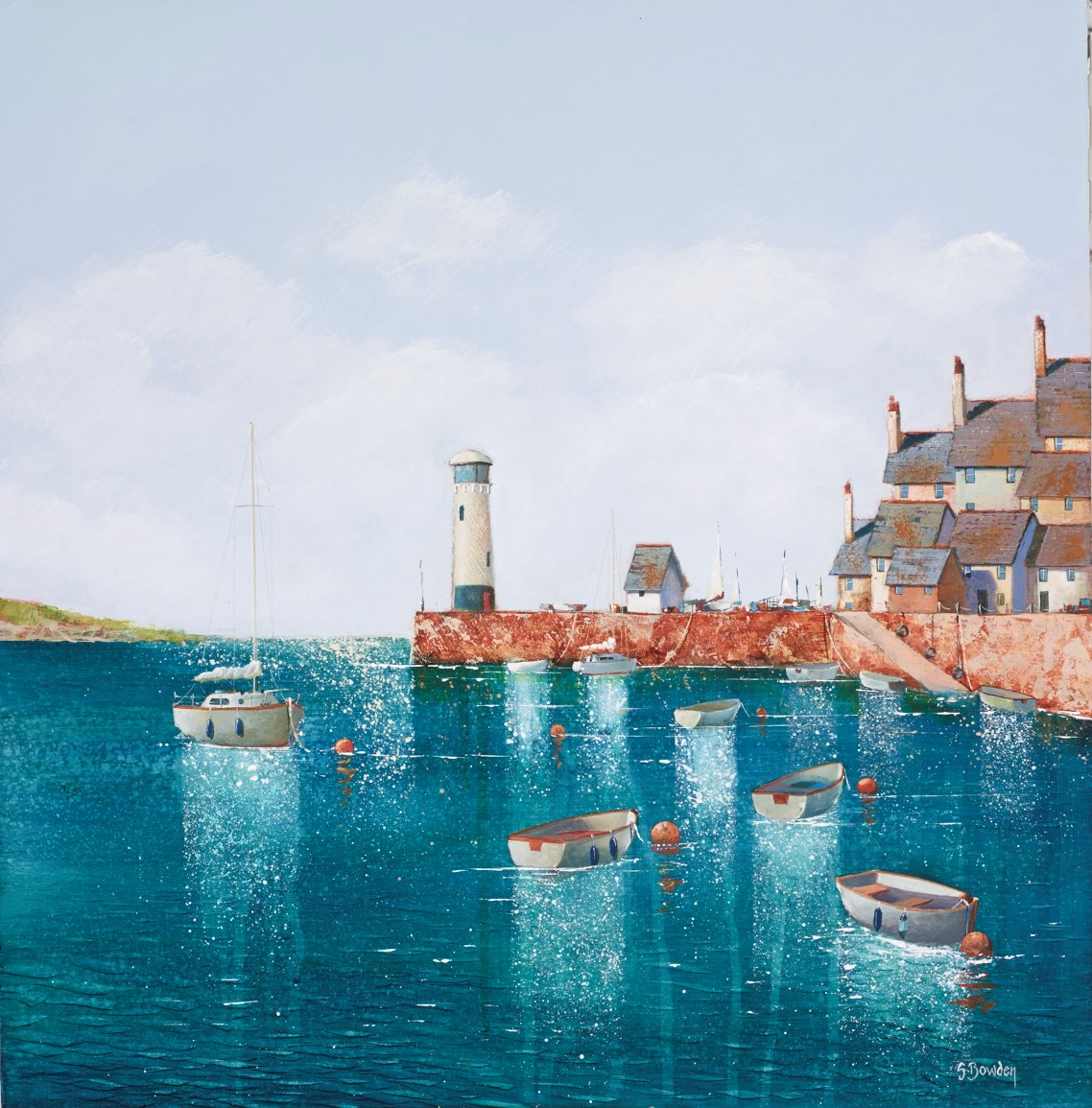 The Tang of Salt by steve bowden -  sized 18x18 inches. Available from Whitewall Galleries